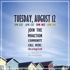 MHAction Community Call August 12 #2